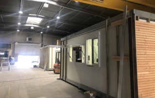 COVID19 confinement modularys module usine